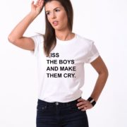 Kiss the Boys and Make Them Cry, White/Black