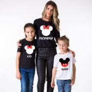 Mommy, Kid, Black/White, White/Black
