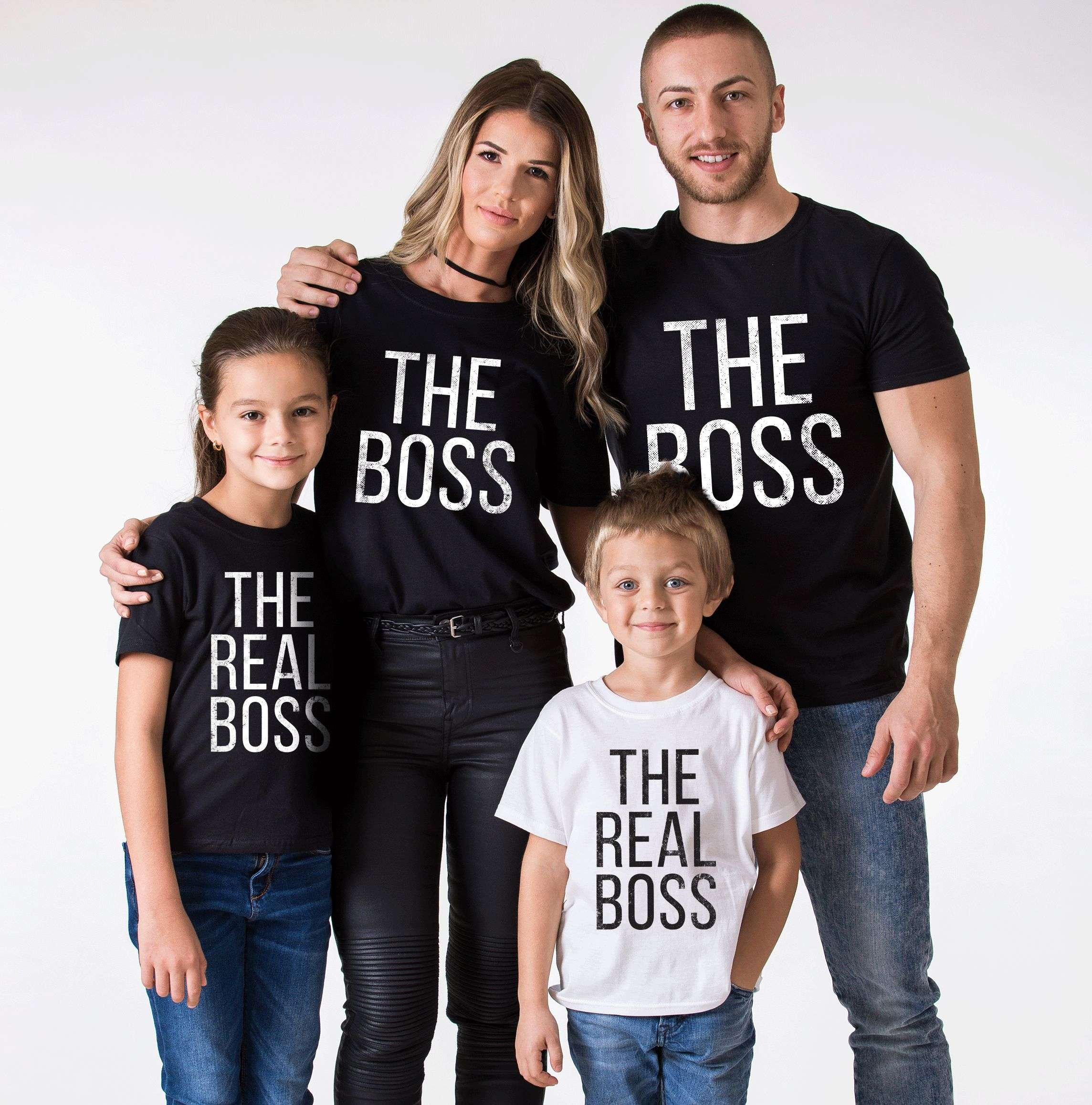 the boss the real boss shirts matching family shirts