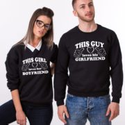 This Guy Loves his Girlfriend, Loves her Boyfriend, Black/White