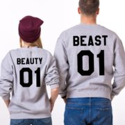 Beauty 01, Beast 01, Gray/Black