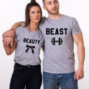 Beauty Beast with ribbon and dumbbell, Gray/Black