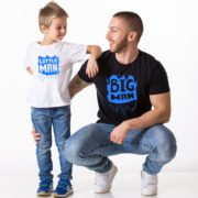 Big Man, Little Man, White/Blue, Black/Blue