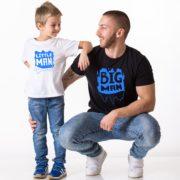 Big Man, Little Man, White/Blue, Black/Blue