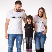 Ctrl+V, Ctrl+C, Black/White, White/Black