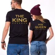 Her King His Queen, Black/Gold