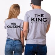 Her King His Queen, Grey/Black