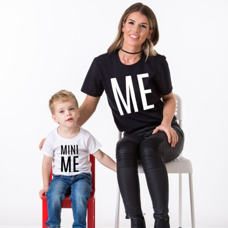 Me, Mini Me, Mother Kid Shirts