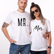 Mr., Mrs., White/Black