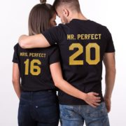 Mr. Perfect Mrs. Perfect, Black/Gold