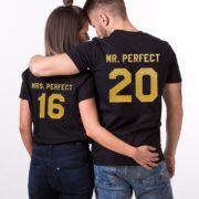 Mr. Perfect Mrs. Perfect, Black/Gold