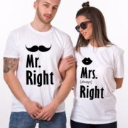 Mr. Right, Mrs. Always Right, White/Black