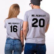 Mrs. Perfect Mr. Perfect, Gray/Black