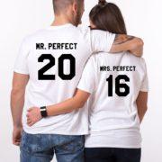 Mr. Perfect Mrs. Perfect, Matching Couples Shirts
