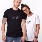 Day Night Shirts, Matching Couples Shirts