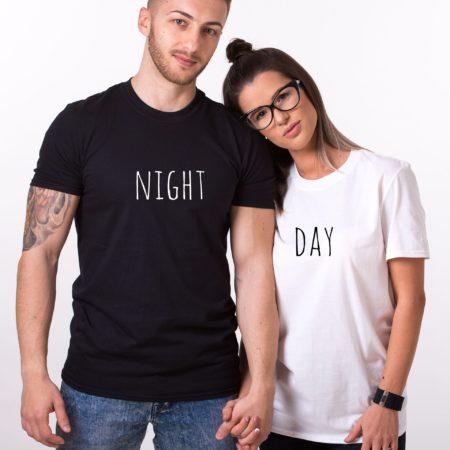 Day Night Shirts, Matching Couples Shirts