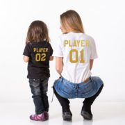 Player 01, Player 02, Black/Gold, White/Gold