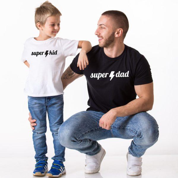 Super Dad Super Kid, Black/White, White/Black