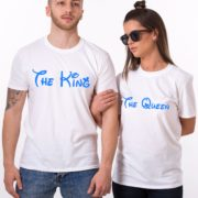 The King The Queen, White/Blue