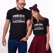Couple Shirts, This Guy Loves his Girlfriend, This Girl Loves her Boyfriend