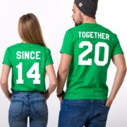 Together Since, Green/White