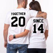 Together Since, White/Black