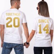 Together Since, White/Gold
