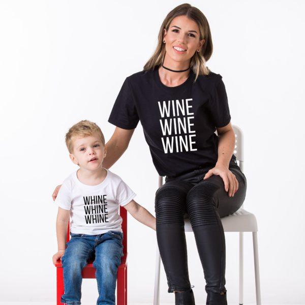 Wine, Whine, White/Black, Black/White