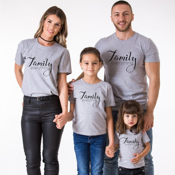 Family Everything, Gray/Black