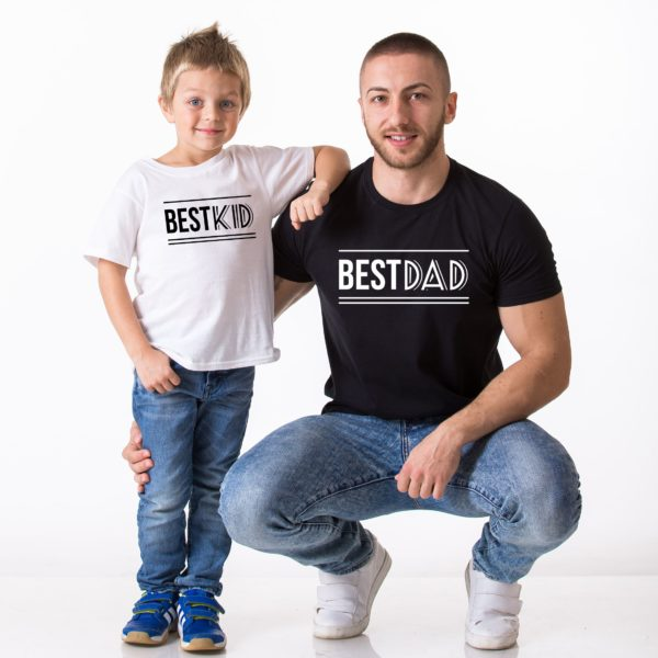 Best Dad, Best Kid, White/Black, Black/White – 1