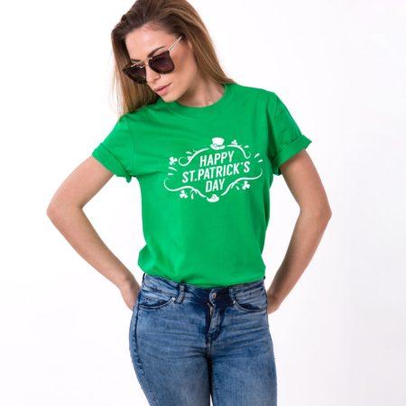 St. Patrick's Day UNISEX Shirt, Happy St. Patrick's Day, Leprechaun Hat