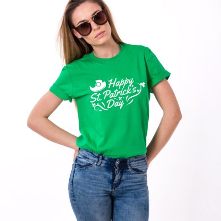 St. Patrick's Day, Leprechaun Shoe, Clover, Happy St. Patrick's Day Shirt
