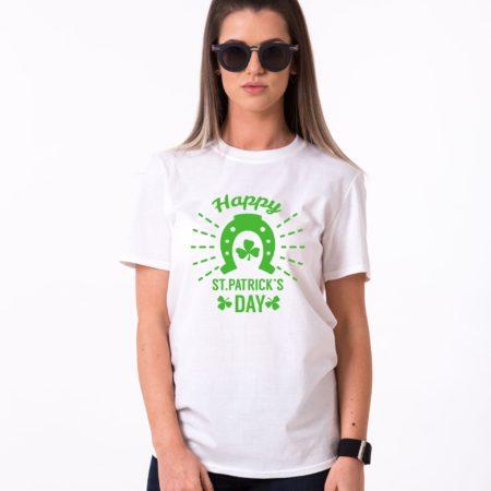 Irish Shirt, Happy St. Patrick's Day, Horseshoe, St. Patrick's Day Shirt