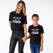 The Mom with the Power, The Girl with the Power, Black/White