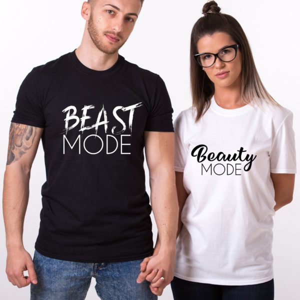Beast Mode, Beauty Mode, Black/White, White/Black