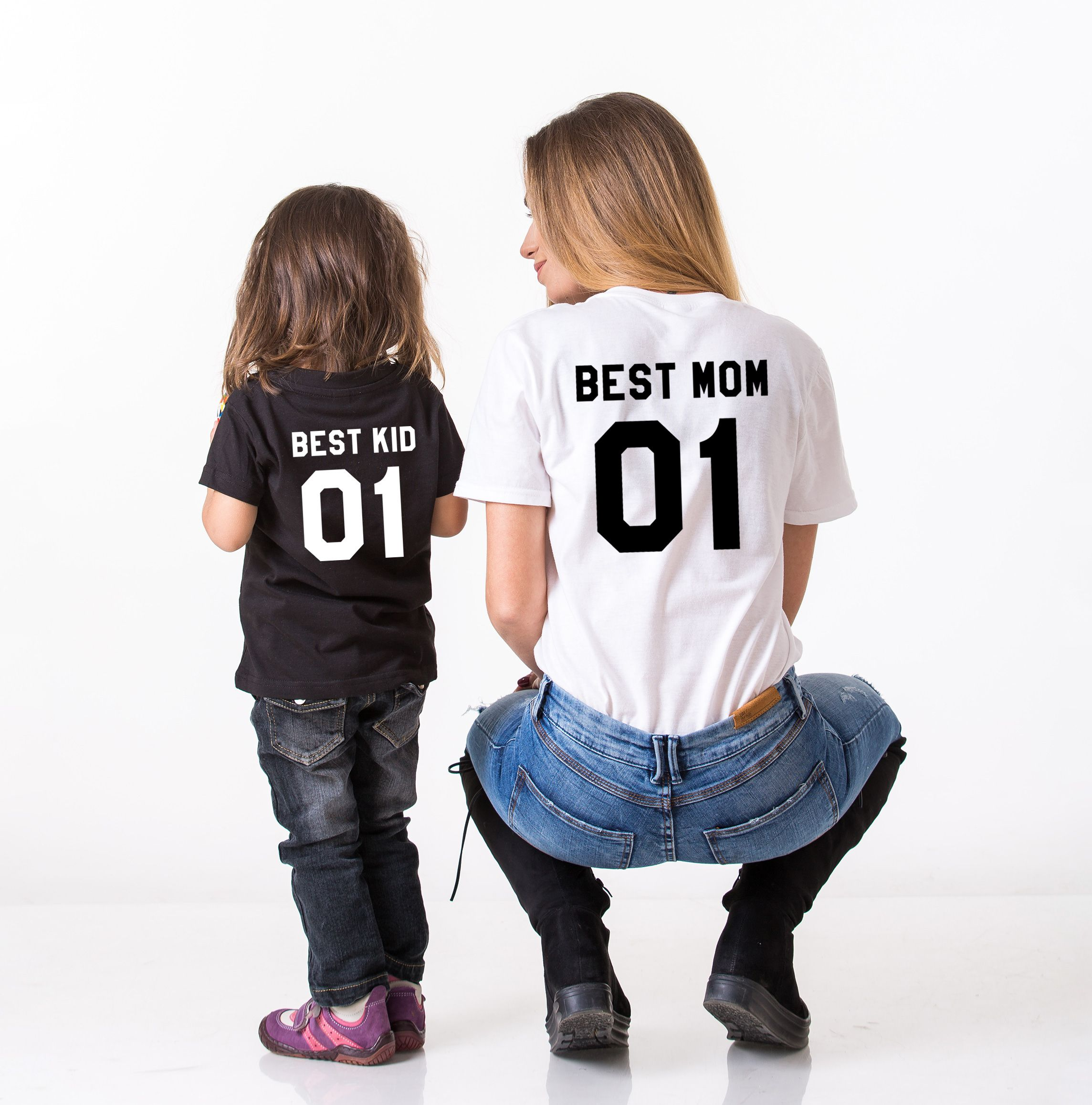 Best Mom Best Kid Shirts Matching Mommy And Me Shirts