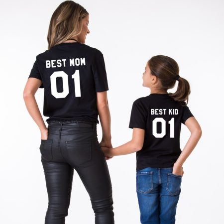 Best Mom Best Kid Shirts, Matching Mommy and Me Shirts