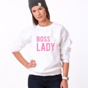 Boss Lady, Truth, White/Pink