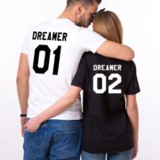 Dreamer 01, Dreamer 02, White/Black, Black/White