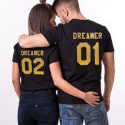 Dreamer 01, Dreamer 02, Black/Gold