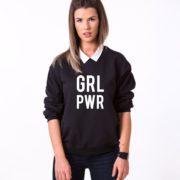 GRL PWR, Black/White