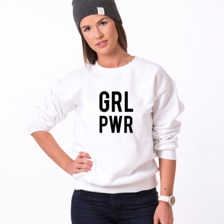 GRL PWR Sweatshirts, Matching Mommy and Me Sweatshirts