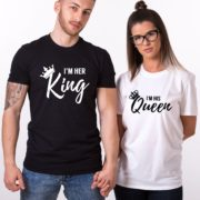 I'm Her King, I'm His Queen, Black/White, White/Black
