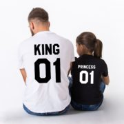 King 01, Princess 01, White/Black, Black/White