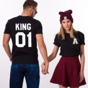 King 01, Queen 01, Black/White