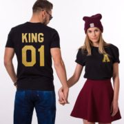 King 01, Queen 01, Black/Gold