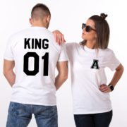 King 01, Queen 01, White/Black