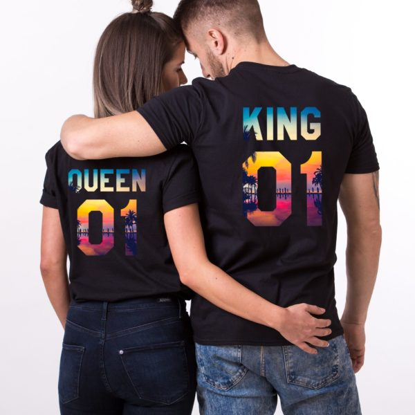 King, Queen, Tropical, Black