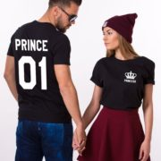 Prince 01, Princess 01, Black/White