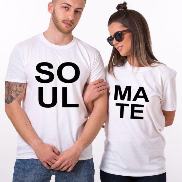 Soul Mate, White/Black